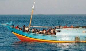 Asylum boat