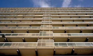 Social housing in east London