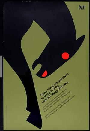 Tom Eckersley: Tom Eckersley poster Equus