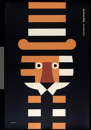Tom Eckersley: Tom Eckersley Greetings poster