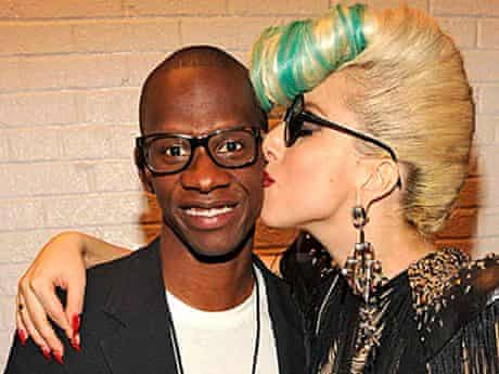 Troy Carter and Lady Gaga