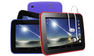The Tesco Hudl, the colourful Android-operated gadget