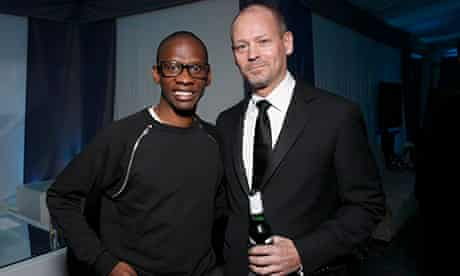 Troy Carter with Kenneth Parks