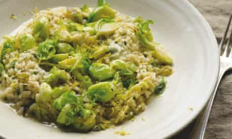 Yotam Ottolenghi's brussels sprout risotto
