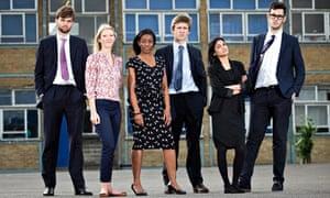 Tough Young Teachers: Charles, Chloe, Claudenia, Nicholas, Meryl and Oliver