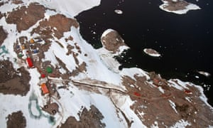 Casey Station, an Australian research base in Antarctica