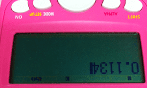 Calculated words