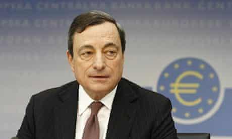 European Central Bank president Mario Draghi