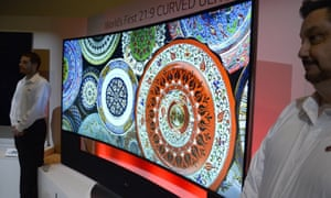 lg curved uhd 4k television