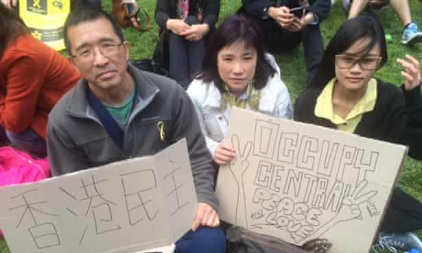 Hong Kong protest Melbourne