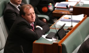 The Member for McEwan Rob Mitchell after being chastised on his twitter usage by Christopher Pyne.
