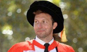 Ian Thorpe receives doctorate