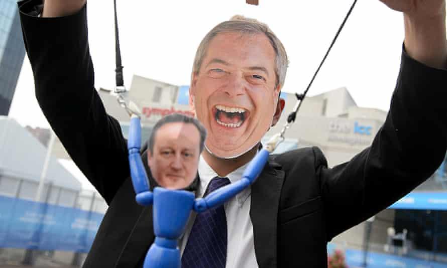 Nigel Farage mask