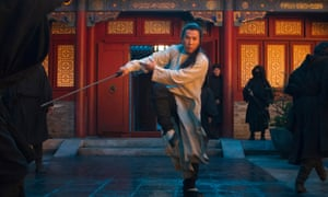 Ready for a fight … Donnie Yen in a scene from Crouching Tiger, Hidden Dragon: The Green Legend