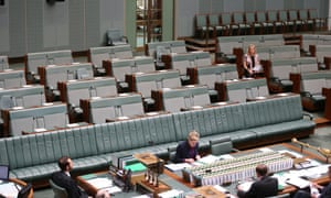The Labor member for Fremantle Melissa Parke during the second reading of the National Security Amendment Legislation Bill.