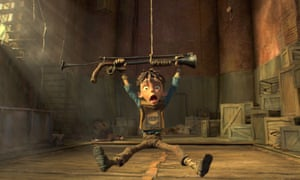 Hanging in there ... The Boxtrolls