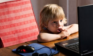 boy laptop
