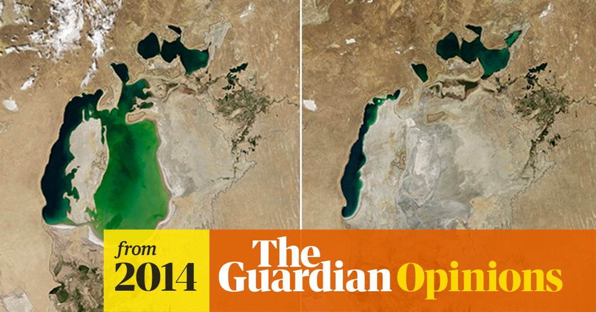 Cotton Production Linked To Images Of The Dried Up Aral Sea Basin Guardian Sustainable Business The Guardian
