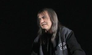 AC/DC rhythm guitarist Malcolm Young