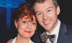 Susan Sarandon with her partner, Jonathan Bricklin