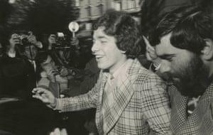 Pino Pelosi, Self-confessed killer of Pier Paolo Pasolini, Rome, 1974.