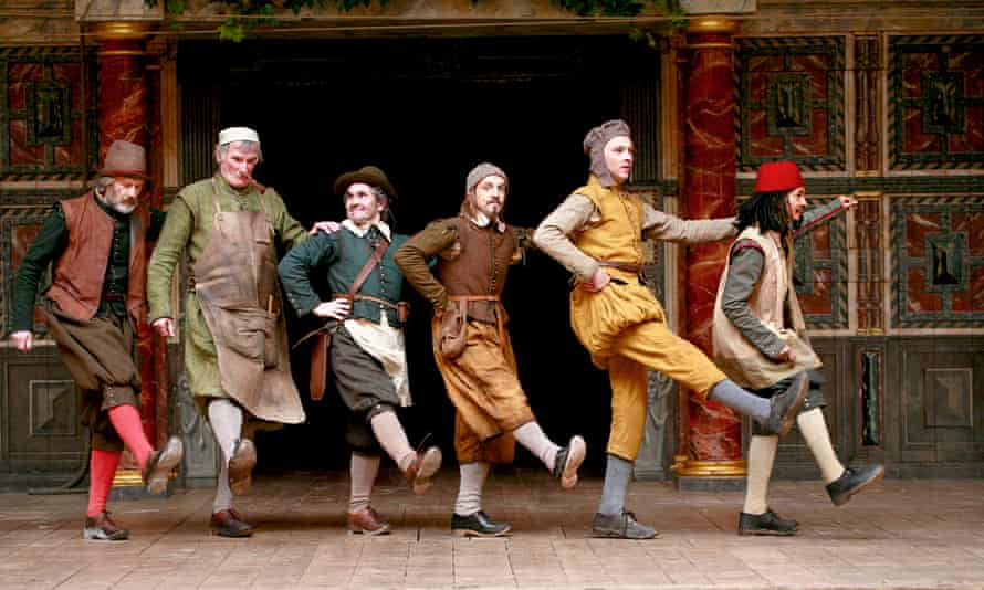 ctors perform a traditional jig at the end of A Midsummer Night's Dream