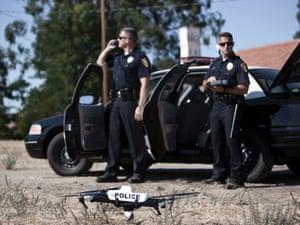 Police drone Qube Grand Forks