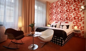 Light fantastic: Prague's Hotel Sax, a 60s bolthole.