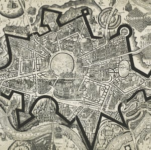 A detail from Grayson Perry's A Map Of Days, 2013 (etching)