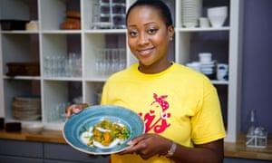 Shauna Muamba cookery