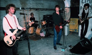 The Replacements (L-R) Tommy Stinson-Bass, Steve Foley-Drums,Paul Westerberg-Vocals/Guitar