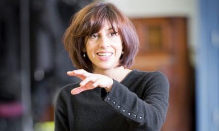Natalie Abrahami in rehearsals