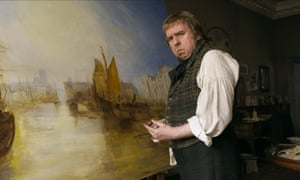 Timothy Spall, who 'had an amateur notion of doodling' had to study painting to prepare for his role in Mr Turner.