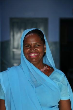 Uganta Umarwal, a former manual scavenger