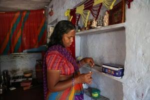 Umarwal prepares to go to Sulabh Sanitation's vocational centre