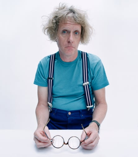 Grayson Perry in men's clothes