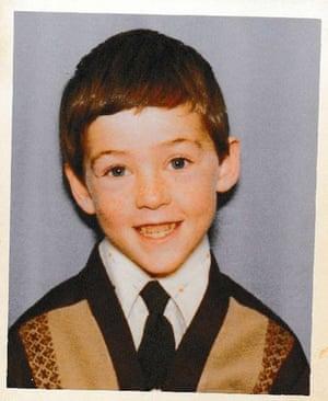 John Boyne aged five.