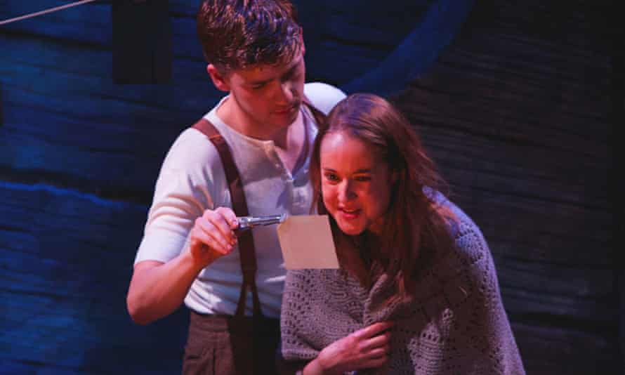 James Rottger and Helen Mackay in Outlying Islands