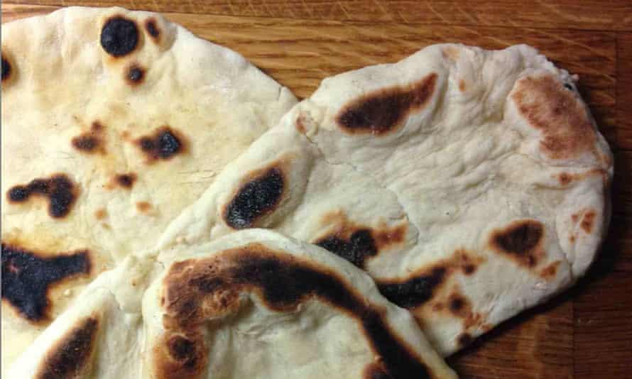Rick Stein's naan bread