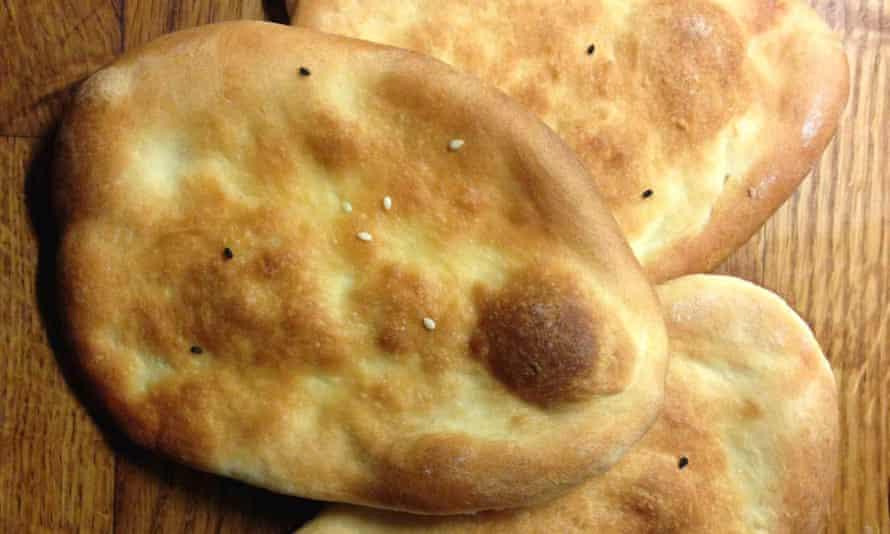Charmaine Solomon's naan bread