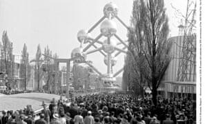 The World Fair in Brussels, Belgium - Apr 1958.