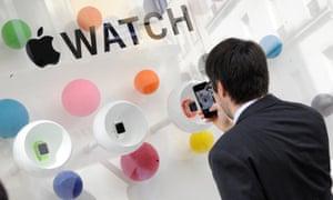 Apple Watch at Colette store, Paris, France.