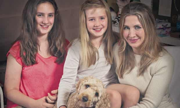 Tanith Carey and daughters