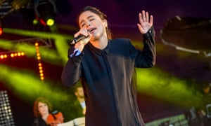 Jessie Ware performing at the Wilderness Festival last August.