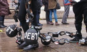 US Money student debt ball protest