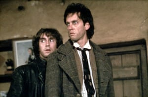 Paul McGann and Richard E Grand in Withnail and I