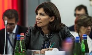 Anne Hidalgo, the Socialist mayor of Paris
