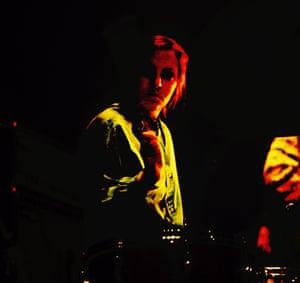 Drummer Maureen Tucker (Moe Tucker)
