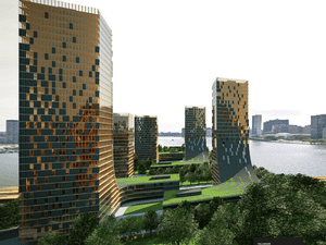 Tallwood - proposed wooden 'plyscrapers' in Vancouver.