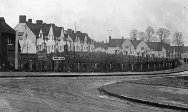 Workmen's cottage in Letchworth in 1912.